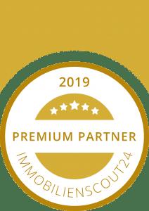 Siegel Immobilienscout 24 Premium Partner 2019
