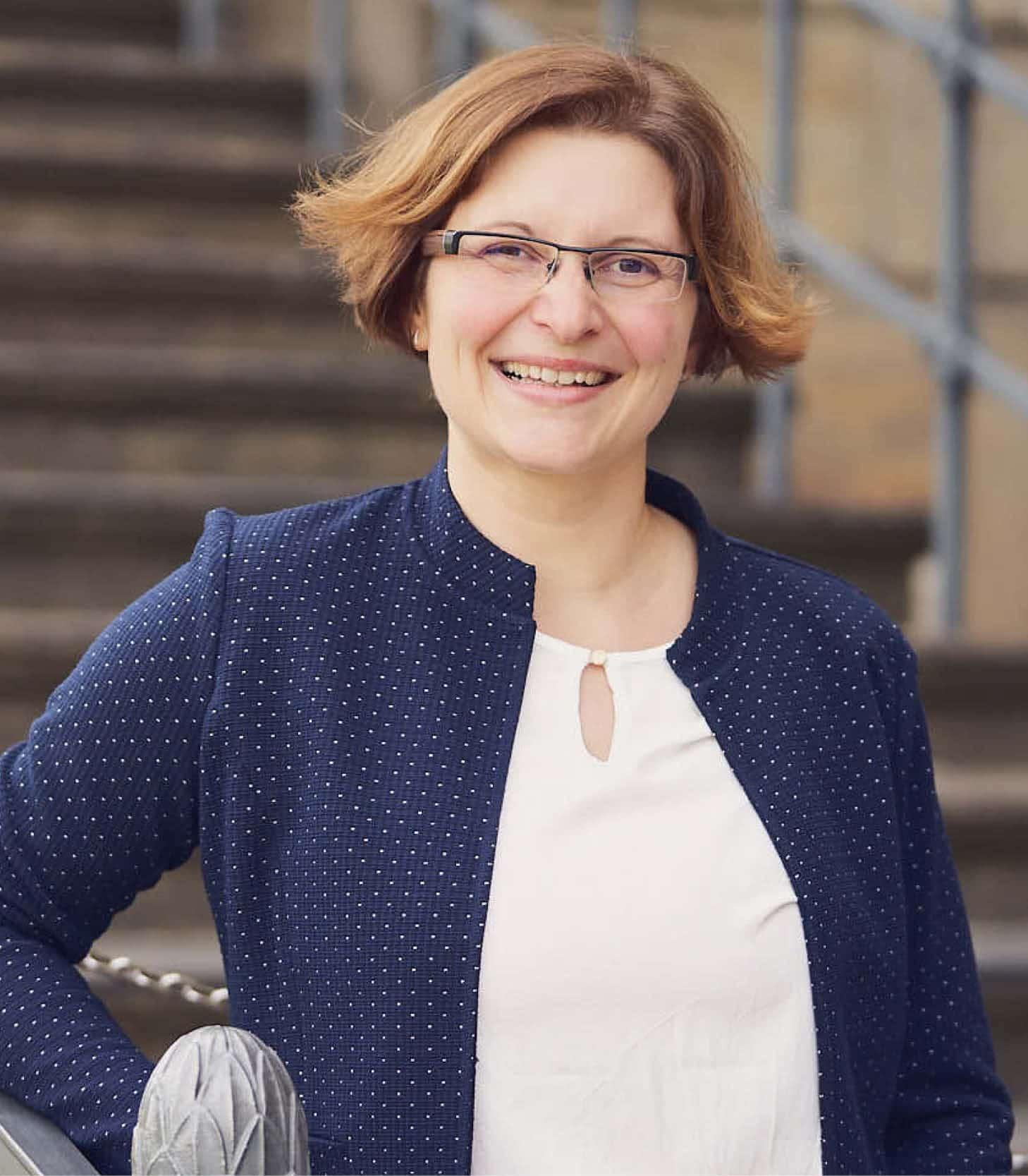 Geschäftsführerin Anke Hermsdorf