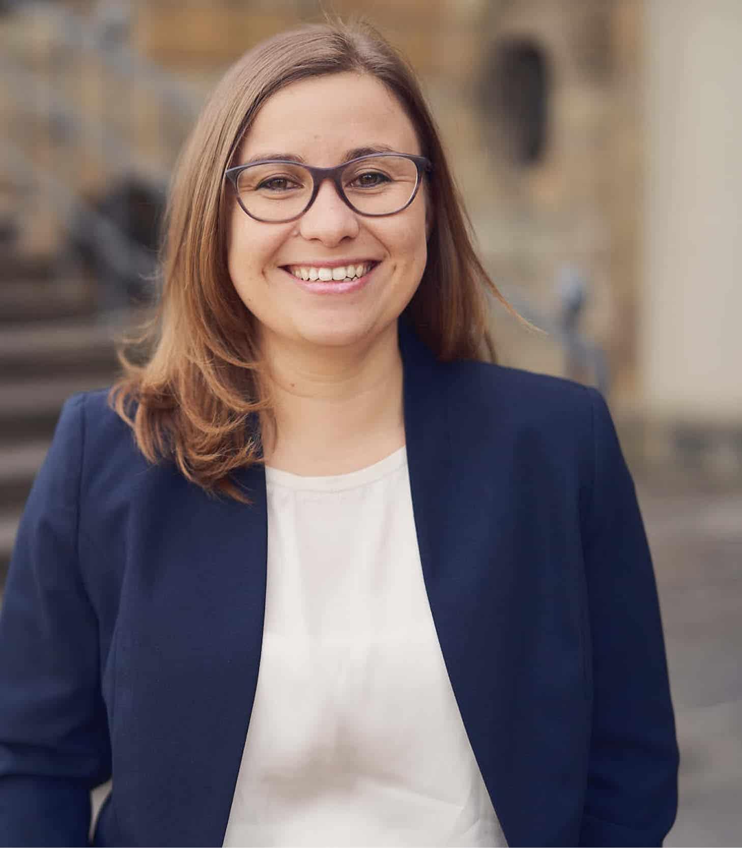Geschäftsführerin Susann Schönherr
