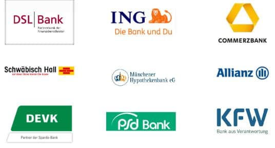 Logo der Partner Banken