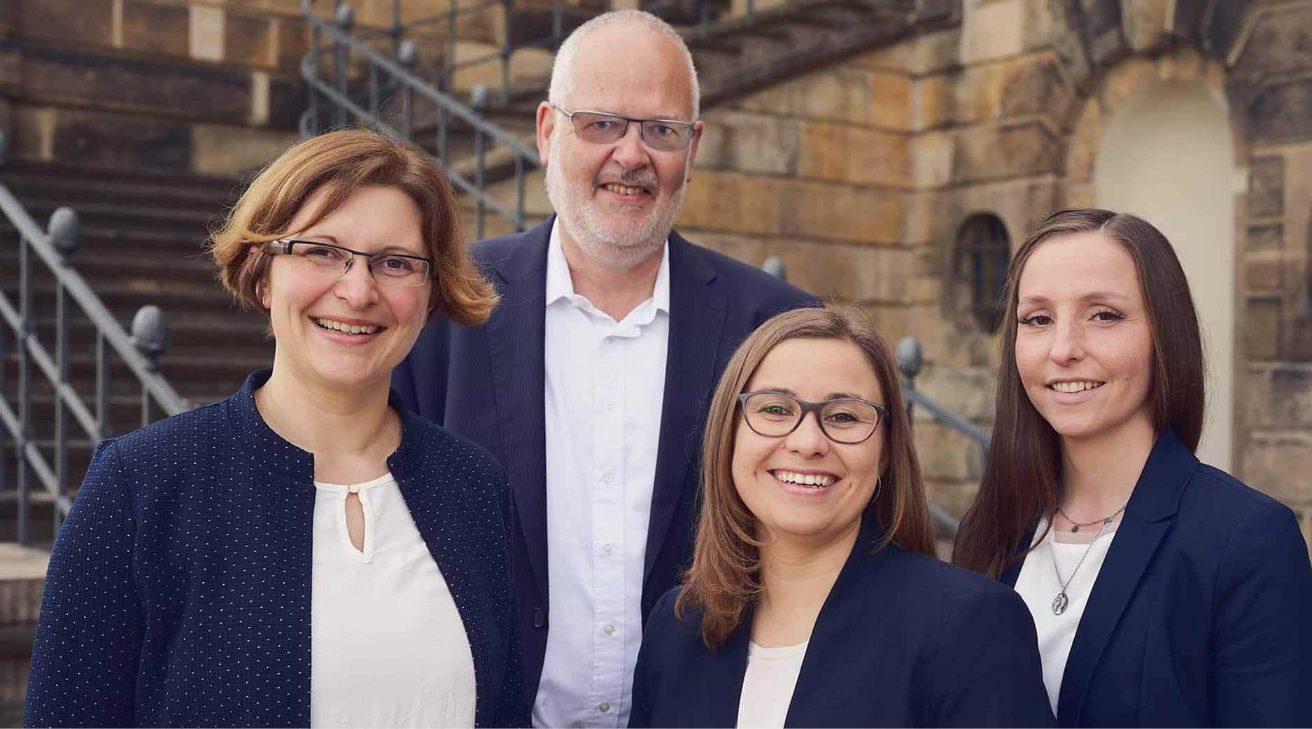 Team-Foto der HS Finanzvermittlung